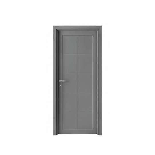 WDMA double wood front door with glass Wooden doors
