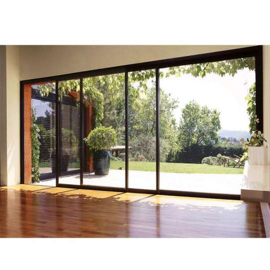 China WDMA remote control sliding door Aluminum Sliding Doors