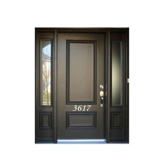 WDMA Exterior Teak Wood Door Antique Main Door Design Models