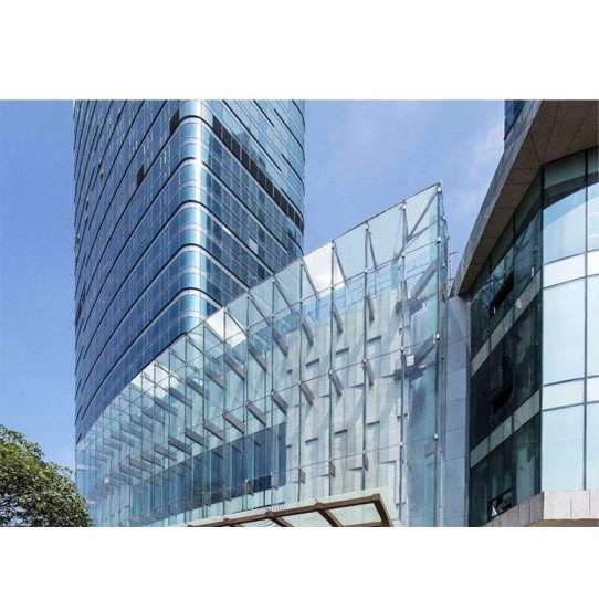 China WDMA exposed frame glass curtain wall