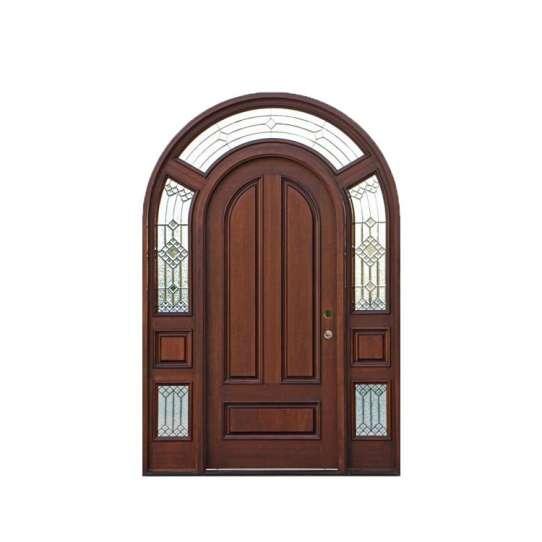WDMA exterior door solid wood