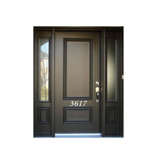 China WDMA exterior door solid wood