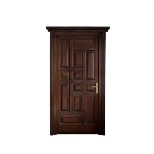 WDMA Factory Custom Wooden Single Door Designs In Karachi