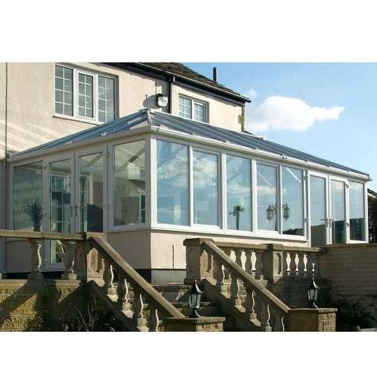 China WDMA Factory Price Fashional Aluminium Frame Glass House Sunroom Kits