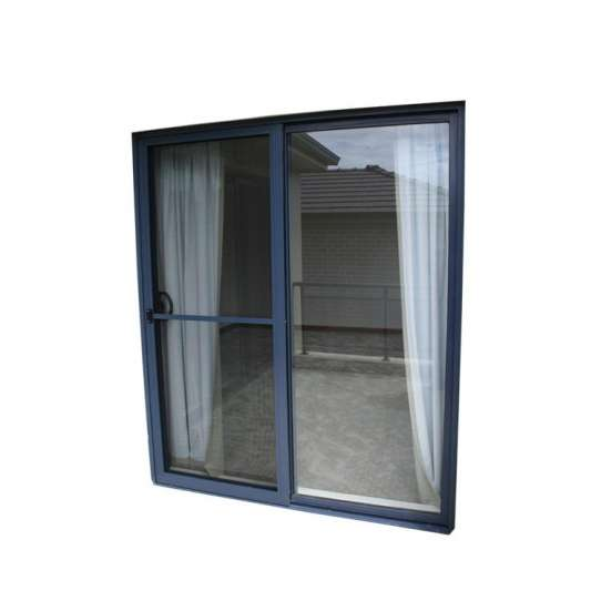 China WDMA Factory Supplying Lift Sliding Door Leaded Glass French Doors Jalousie Storm