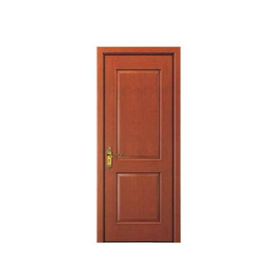 China WDMA Finished Surface and Interior Position solid Wooden Interior Office Door With Glass In Uae