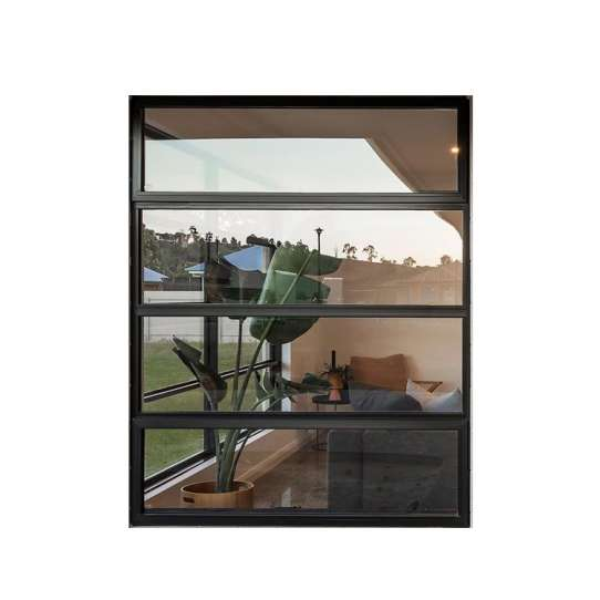 China WDMA Floor To Ceiling Aluminum Awning Window Triple Double Glass Windows Price