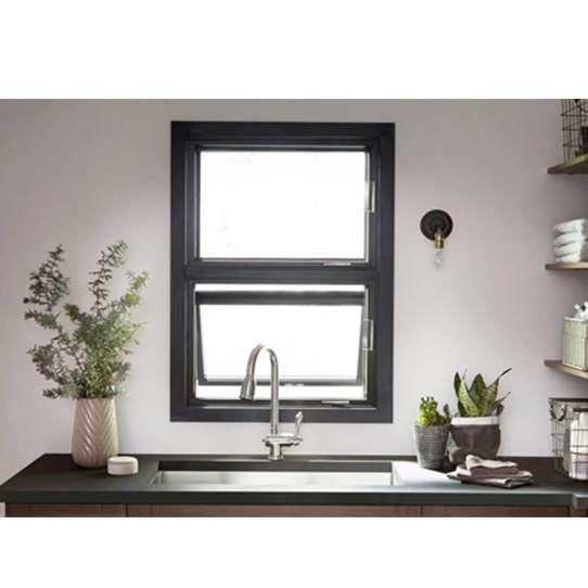 China WDMA triple aluminum awning window