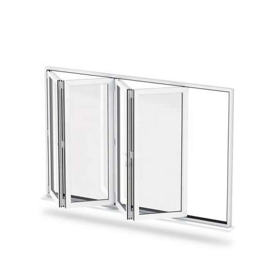 WDMA folding aluminum window Aluminum Folding Window