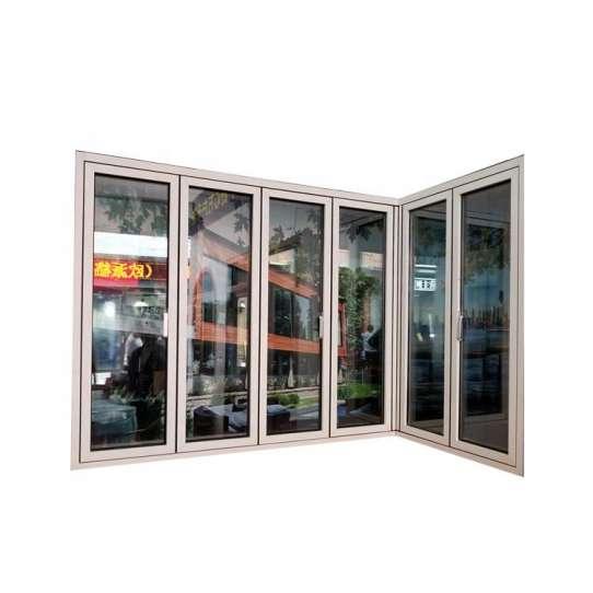 China WDMA folding aluminum window