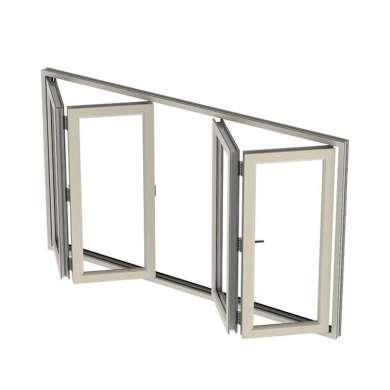 WDMA Folding Aluminum Window Corner Door Aluminum China