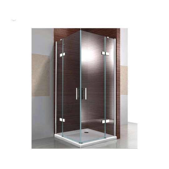 WDMA frameless bathroom tempered glass shower door