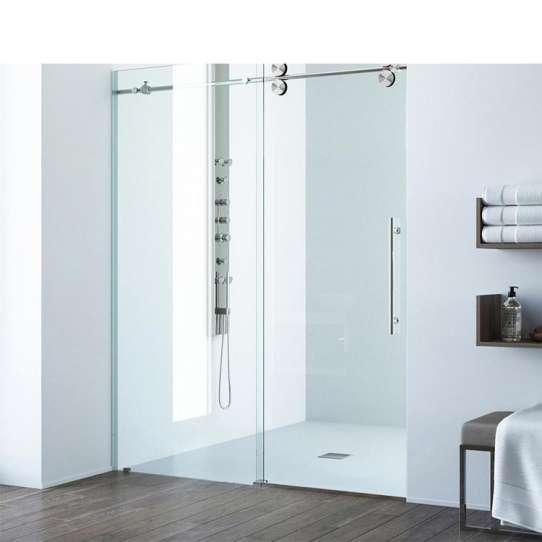 WDMA frameless bathroom tempered glass shower door Shower door room cabin
