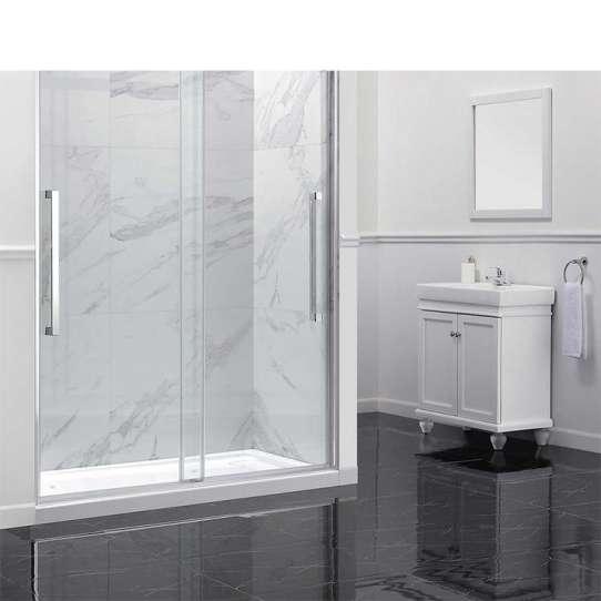 China WDMA frameless bathroom tempered glass shower door Shower door room cabin
