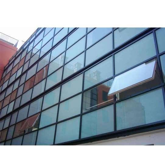WDMA curved glass curtain wall Aluminium Curtain Wall