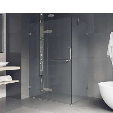 WDMA Free Standing 4 Sided 80x80 Square Shower Cabin Gay Shower Room Shower Enclosure