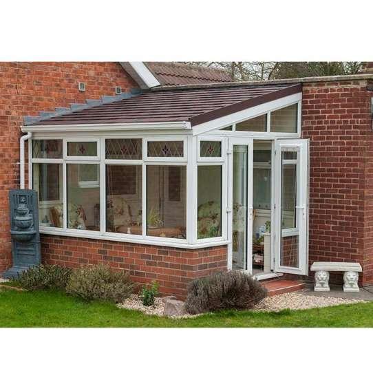 WDMA Free Standing Insulated Glass Veranda Sunroom Roof Panels Customized