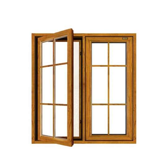 WDMA aluminium windows in pakistan with grill design Aluminum Casement Window