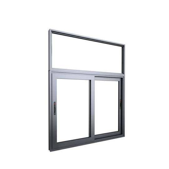 China WDMA brown glass window Aluminum Sliding Window