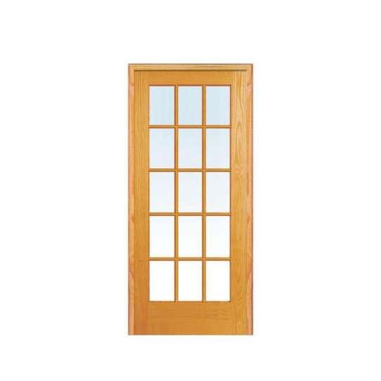 WDMA German Solid Color Designer Sunmica Shutter Folding Bifold Wooden Accordion Louvre Door Models Room Wooden