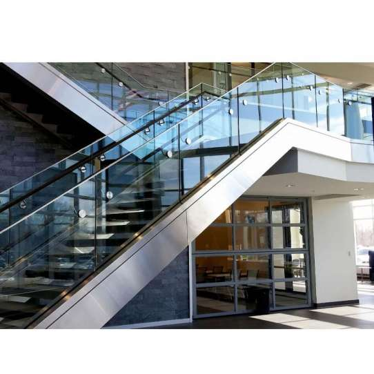 China WDMA glass fixing balustrade