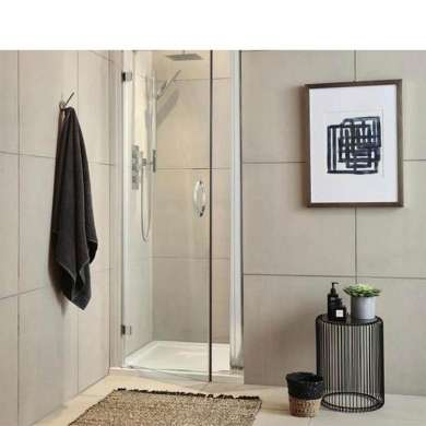 WDMA Glass Sliding Door shower Room Glass Sliding Door stainless Steel Sliding Door