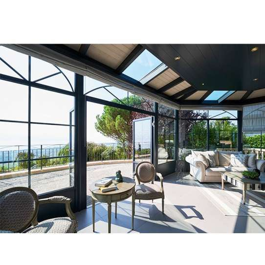 China WDMA Glass Sunroom Conservatory Roofs System