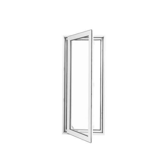 China WDMA glass window wood grain window