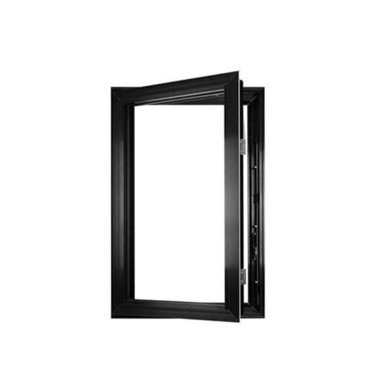 China WDMA glass window wood grain window Aluminum Casement Window