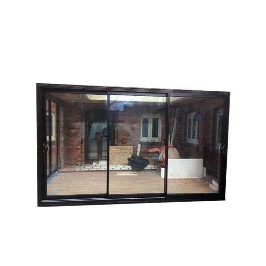 WDMA Guangdong Art Deco Style Shock Absorber Design Almirah Door Builders Warehouse Single Panel Sliding Exterior Door With Mosquito