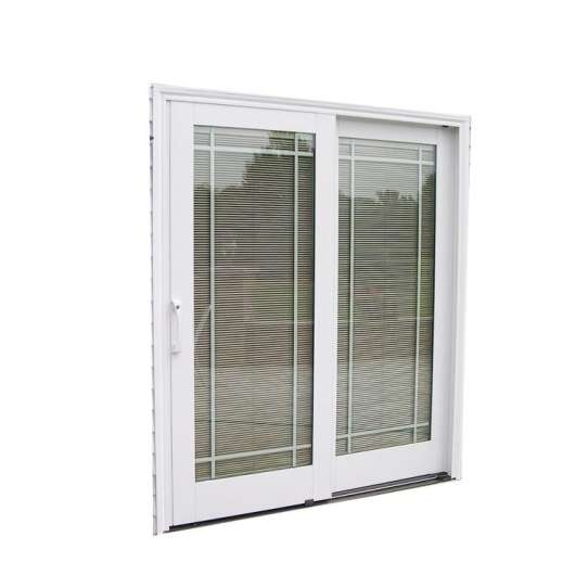 WDMA art deco style door sliding door Aluminum Sliding Doors