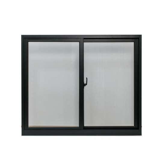 China WDMA sliding wood window grill design Aluminum Sliding Window