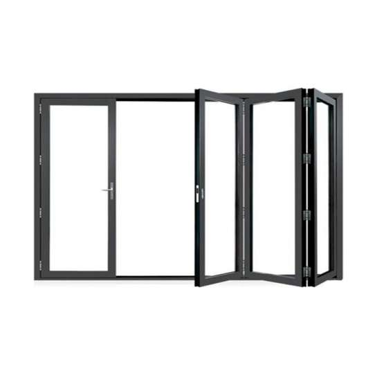 WDMA glass folding door
