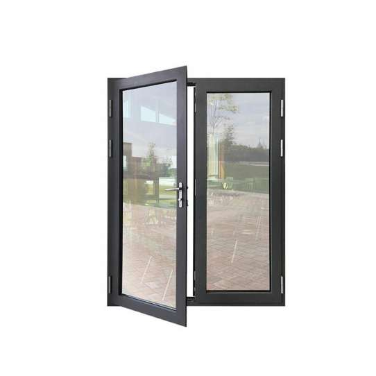 China WDMA Home Luxury French Double Entry Door Gate Glass With Grill Insert Design Sunmica Price