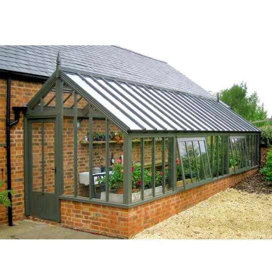 WDMA Hot Products Balcony Aluminum Sunroom Conservatory Greenhouse