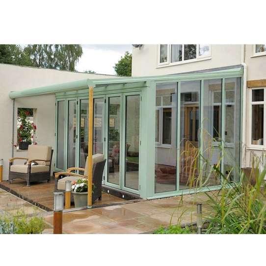 China WDMA Hot Products Balcony Aluminum Sunroom Conservatory Greenhouse