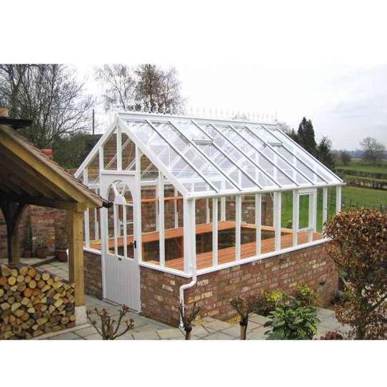 China WDMA conservatory greenhouse Aluminum Sunroom