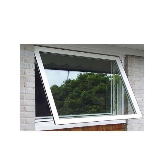 China WDMA Hot Sell Glass Window Top-hung awing Automatic Aluminium Window On Sales