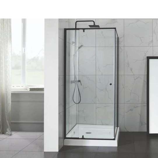 WDMA hotel bathroom shower door