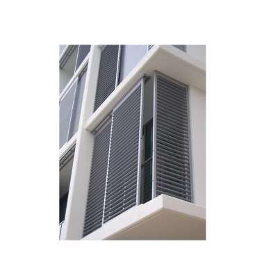 WDMA Hurricane Impact Burglar Proof Adjustable Aluminum Screen Shutter Jalousie Casement Window Louver