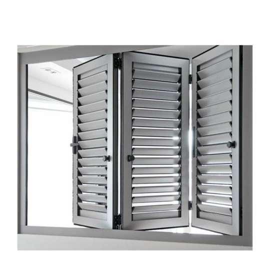 WDMA aluminum jalousie window