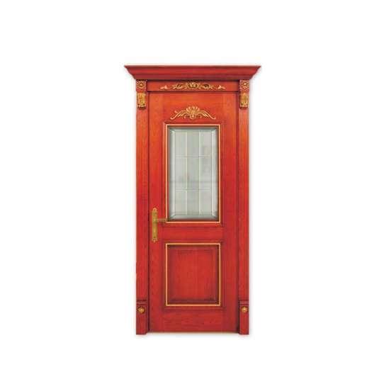 China WDMA Indian House Main Door Teak Wood Designs