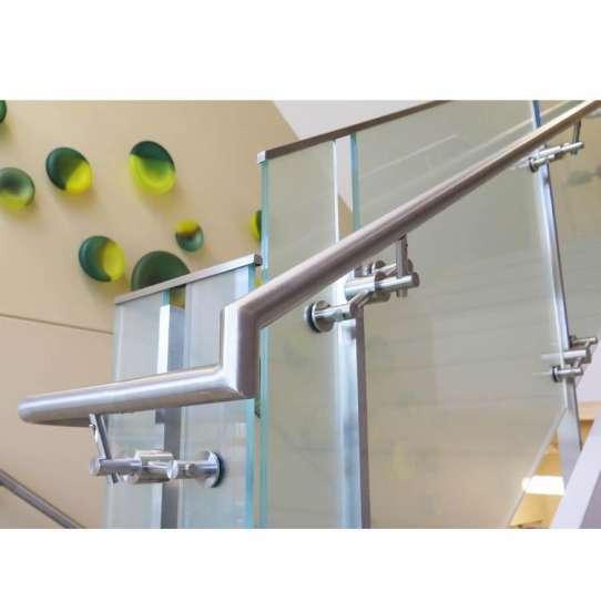China WDMA 10mm thick frameless glass balcony railing