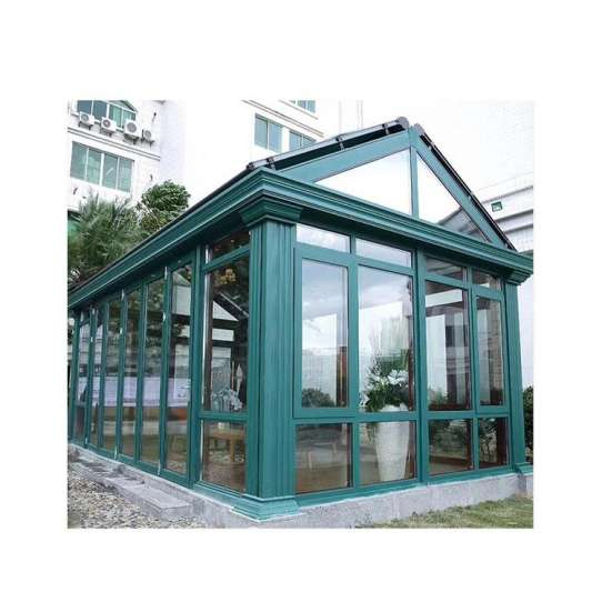 China WDMA Insulated Glass Conservatory Rooms For Gardens
