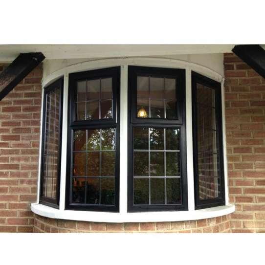 WDMA Intelligent House Floor To Ceiling Staircase Beveled Aluminum Fixed Glass Glider Window Sash Georgian Windows Design Cost