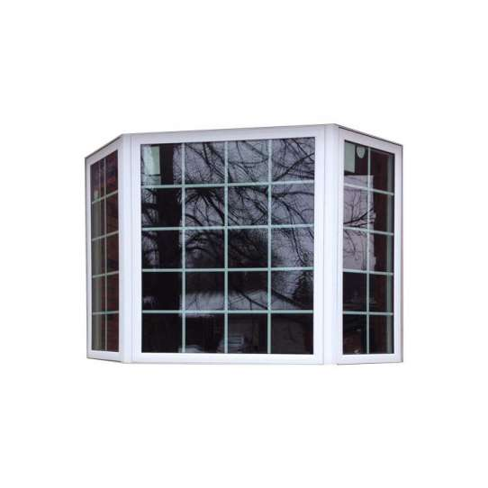 WDMA beveled glass windows Aluminum Fixed Window