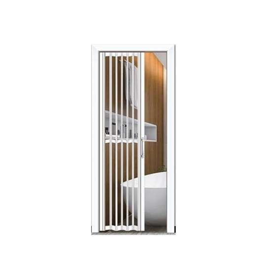 WDMA Interior Temporary Bathroom Toilet Bi Folding Door