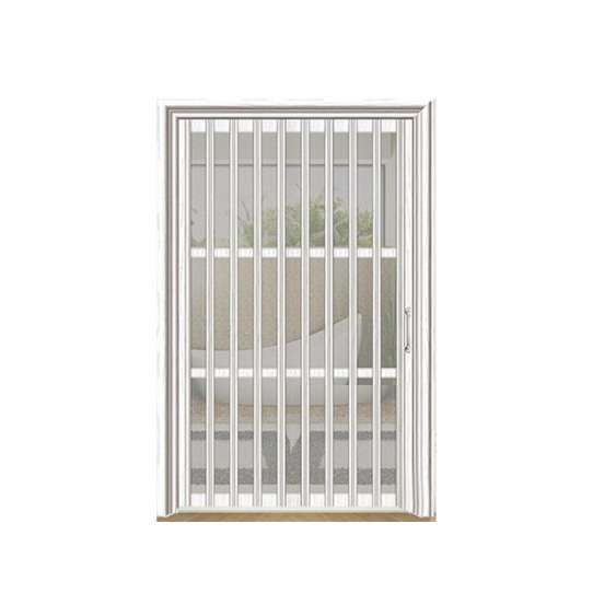 China WDMA Interior Temporary Bathroom Toilet Bi Folding Door