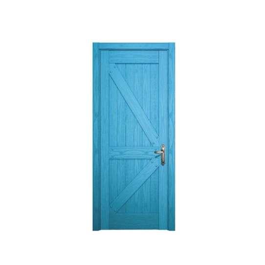 China WDMA Interior Wooden Sliding Pocket Door