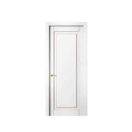WDMA Italy Latest Design House Wooden Doors Model
